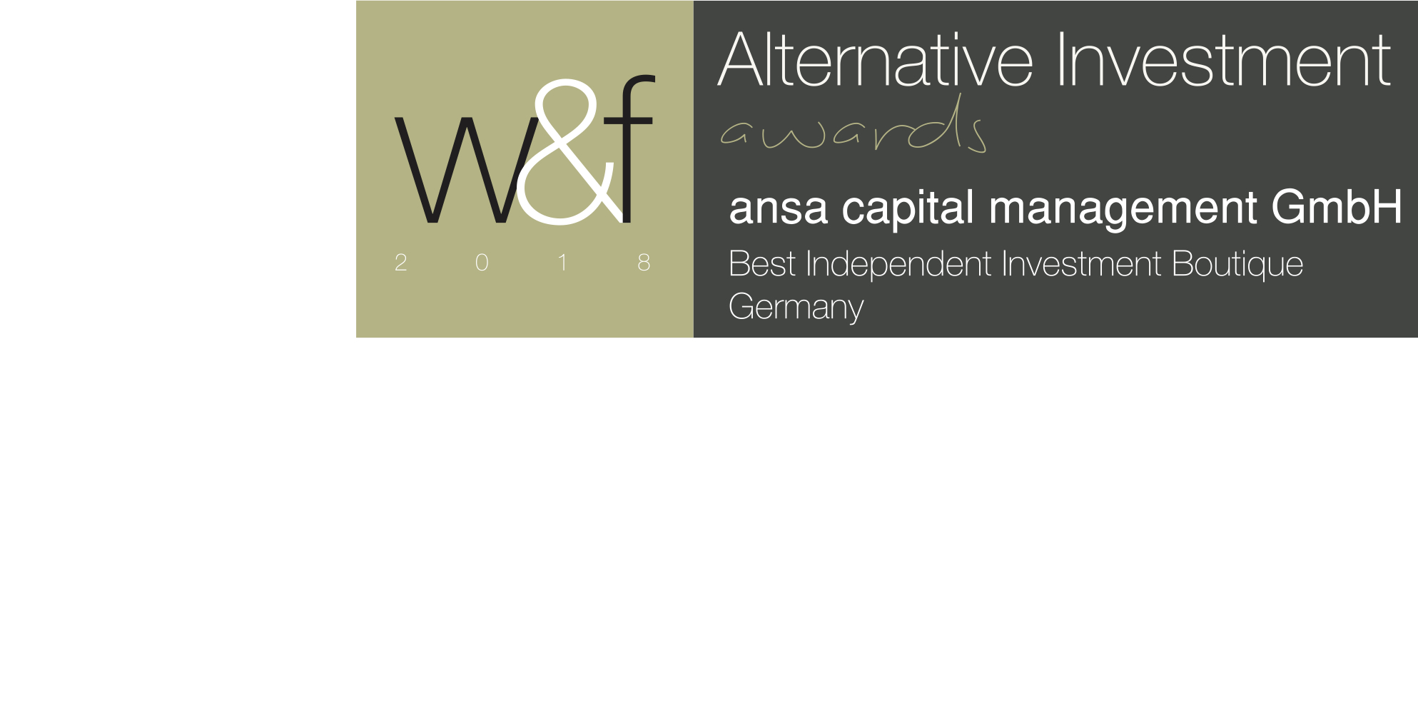 Best Independent Investment Boutique - Germany